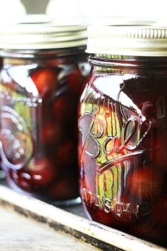 Russian Pickled Cherries {Simple Food Preservation}. These sound marvelous! Can't wait to give this one a whirl. From my good friend Rebecca at Foodie with Family
