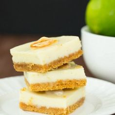 Key Lime Pie Bars Recipes | Brown Eyed Baker