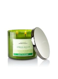 Bath and Body Works Armotherapy EUCALYPTUS SPEARMINT Scented Candle
