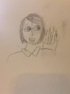I drew Thalia
