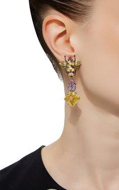 Beetle Drop Earrings | Moda Operandi