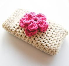 Crochet Ipone Case: Free pattern.