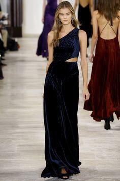 Ralph Lauren Fall 2016 Ready-to-Wear Fashion Show - Kate Grigorieva