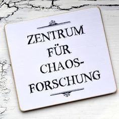 Kühlschrank-Magnet ZENTRUM für CHAOSFORSCHUNG