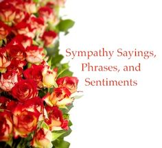 What To Write In A Sympathy Card  Sincere Phrases To Say  Th