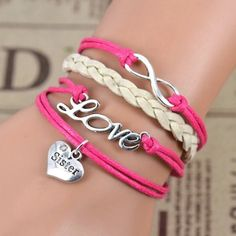 Sister Love Beautifully Crafted Bracelet Brand New in packaging! Jewelry Bracelets