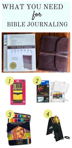 How to Get Started Bible Journaling
