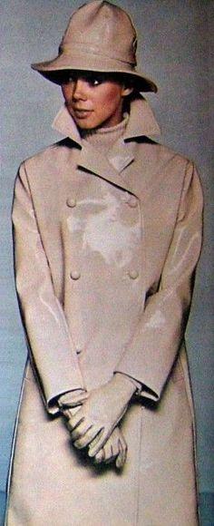 Vinyl rain Coat 1966