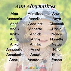 Looking for alternatives to Ann or fresh routes to Annie? We take a look at all of her variations, from elaborations to combination names to international imports. Click through for more! #babynames #classicnames #girlnames Strong Girl Names, Cute Girl Names, Baby Girl Names Unique, Beautiful Girl Names, Strong Girls, Baby Names, Classic Names, Classic Girl, Name Inspiration