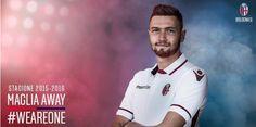 Bologna away shirt launch 2015-16.