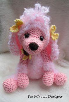 Ravelry: Cute Poodle Crochet Pattern pattern by Teri Crews