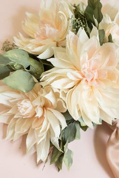 How-To-Make-Paper-Flowers_Appetitepaper.com_Cafe-Au-Lait-Dahlia-Bouquet_09