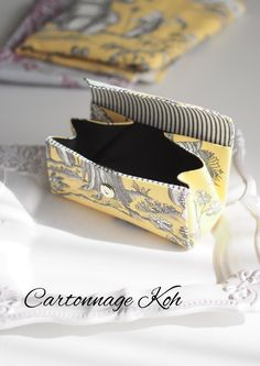 Diy Gift Box, Diy Box, Sewing Kit, Pouch Bag, Fashion Bags, Purses And Bags, Design Art, Diy Projects, Tapestry