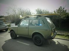 Chuck´s 4x4 Lada Niva. Thinking of purchasing one soon! Don't hesitate to give your comments about the #car. #Lada #Niva