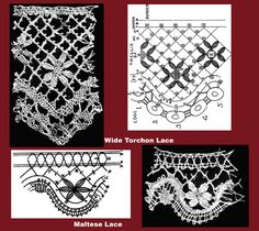 Iva Rose Vintage Reproductions - Needlecraft Practical Journal #40 c.1904 - Pillow Laces