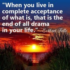 end drama eckart tolle acceptance being consciousness Spiritual Quotes, Wisdom Quotes, Positive Quotes, Life Quotes, Now Quotes, Great Quotes, Inspirational Quotes, Eckhart Tolle, Power Of Now