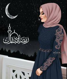 Bild Karto Hijab girly_m hijab ramadan Girly M, Hijabi Girl, Girl Hijab, Lovely Girl Image, Girls Image, Ramadan, Hijab Stile, Muslim Women Fashion, Cute Girl Drawing