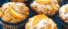 Spicy Peach and Apple Muffins recipe from Food in a Minute