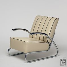 Lounge chair in Streamline-design