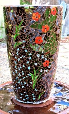 beautiful mosaics   Home Decorating & Landscape Design Pins