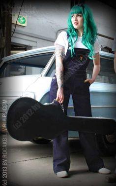 Rumble59 Ladies - Latzhose - Machete Liz - Rockabilly Rules - Onlineshop für Pin Up und Rockabilly Style