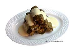 Ντολμαδάκια Mε Λεμονάτη Mπεσαμέλ! ~ Χριστίνας ...Μαγειρέματα! Pudding, Desserts, Food, Tailgate Desserts, Deserts, Custard Pudding, Essen, Puddings, Postres