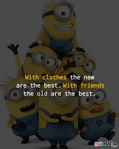 Minion Rock, Minion 2, Funny Minion Memes, Minions Quotes, Motivational Quotes In Hindi, Hindi Quotes, Like Quotes, Funny Quotes, Besties