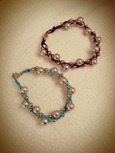 plaited cord bracelets