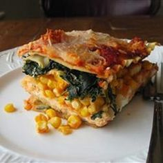 """Summer Garden Lasagna 