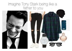 """""""Imagine Tony Stark being like a father to you"""" by laurianne-lzr on Polyvore featuring 7 For All Mankind, Madewell, UGG Australia, ALDO, Paco Rabanne, women's clothing, women, female, woman and misses"""