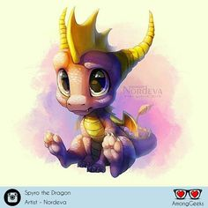 Spyro The Dragon  . . . #spyro #spyrothedragon #playstation #ps2 #chibi #kawaii #gamer #Draw #Drawing #Art #Fanart #Artist #Illustration #Design #sketch #doodle #tattoo #Arthelp #Anime #Manga #Otaku #Gamer #Nerdy #Nerd #Comic #Geek #Geeky