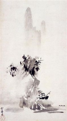 Haboku Sansui by Sesshu Toyo