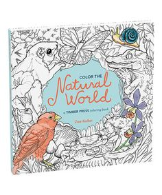 Love this Color the Natural World Coloring Book on #zulily! #zulilyfinds
