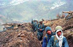 Iranian Soldiers during the Iran-Iraq war