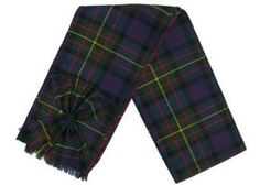 Scottish 100% Wool Tartan Ladies Mini Sash with Rosette - MacLaren * You can find more details by visiting the image link.