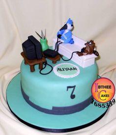 Regular Show Birthday Cake Girl