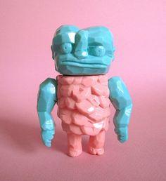 "Grody Shogun ""Karakuri"" (Cotton Candy Machine ""Lulubell & Friends"" Store Event) by chimply kaiju, via Flickr"
