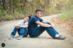 brothers, siblings, fall, dirt road