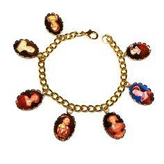Henry VIII Tudor Charm Bracelet , £15.00 by Cheap Frills