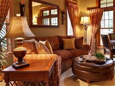 Traditional Living-rooms from Chantal Devane on HGTV