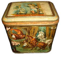 Jacobs biscuit tin, Alice 1892