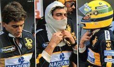 Orgullo latinoamericano! Ayrton Senna da Silva.