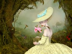 """The Collector"" 2014 by Canadian visual artist Ray Caesar (b.1958)"
