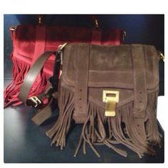 Proenza Schouler Suede Fringe Bags