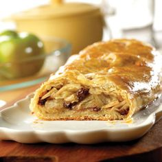 Find the recipe for Apple Strudel and other phyllo/puff pastry dough recipes at Epicurious.com
