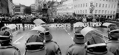 Strejke og demonstration i 1980erne