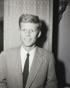 1/6/1947-Rep. John F. Kennedy of MA, son of the former U.S. Ambassador to Great Britain who suceeds James M. Curley of Boston, MA, in the new Congress. Photo by A. E. Scott.♥❃❋✽✾❀❃ ♥  http://en.wikipedia.org/wiki/John_F._Kennedy