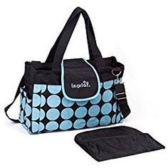 Baby Diaper Bag Classic Bags Dot with Changing Pad,Blue