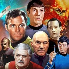 """Star Trek """"I've always loved the Star Trek original series. I also enjoyed The Next Generation. I didn't watch much of Deep Space Nine or Voyager but if I had, I'm sure I'd been pulled right into it all. Fascinating!"""""""
