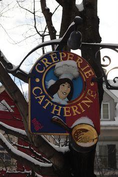 Creperie Catherine #Tremblant